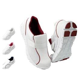 13707 New屈曲ソール ベルトシューズ【ナースシューズ 看護師 介護 ケア 疲れにくい 靴】