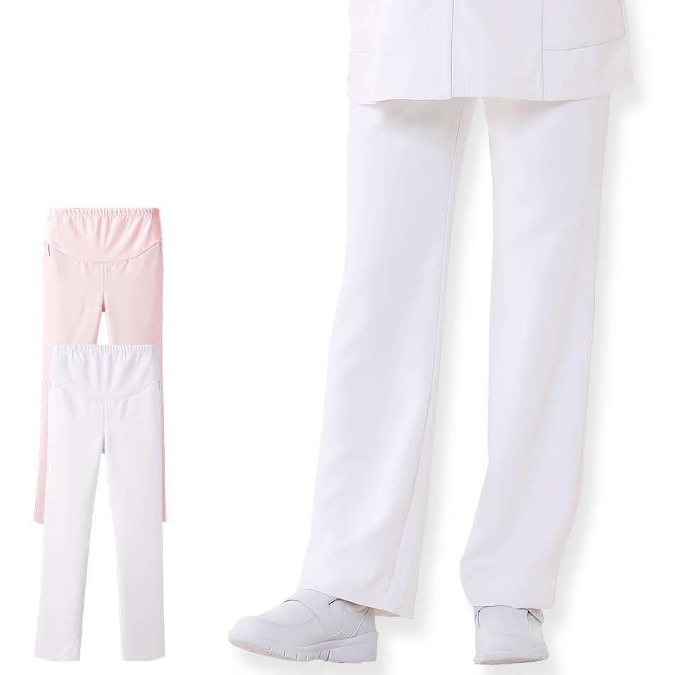 2175 マタニティ マシュマロツイルパンツ【医療 ナース 看護 白衣 女性】
