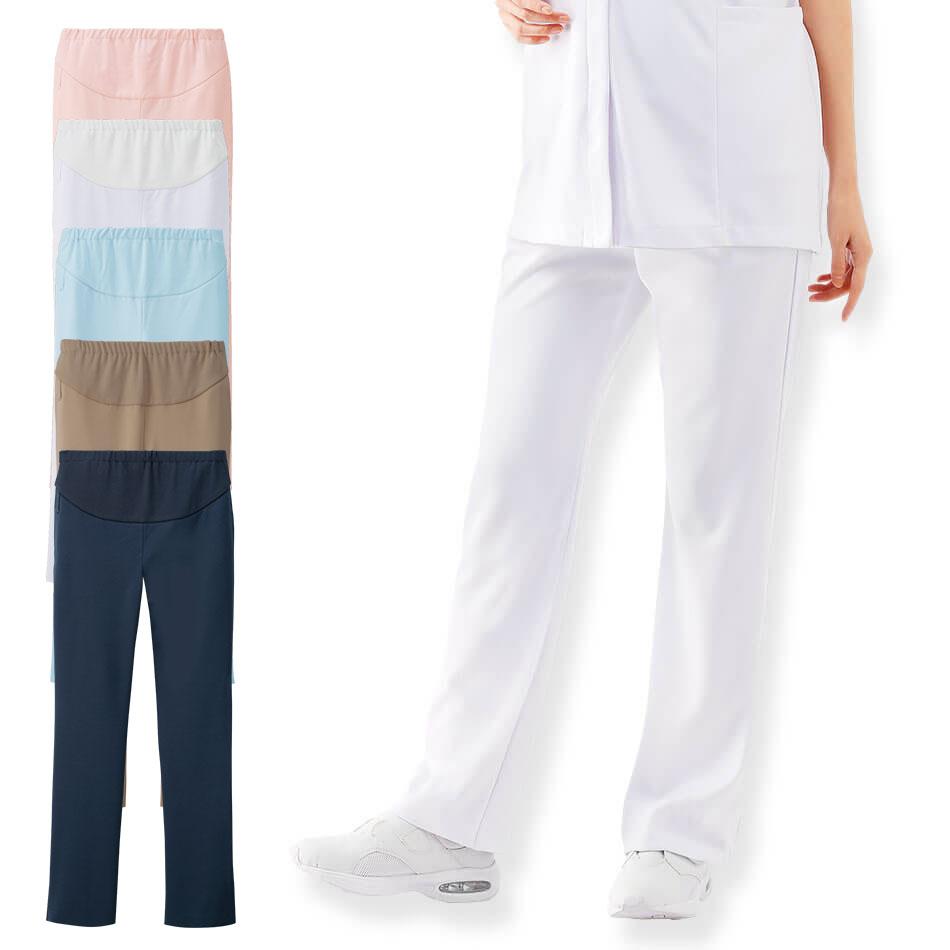 2188 マタニティ アクティブパンツ【医療 ナース 看護師 白衣 女性】