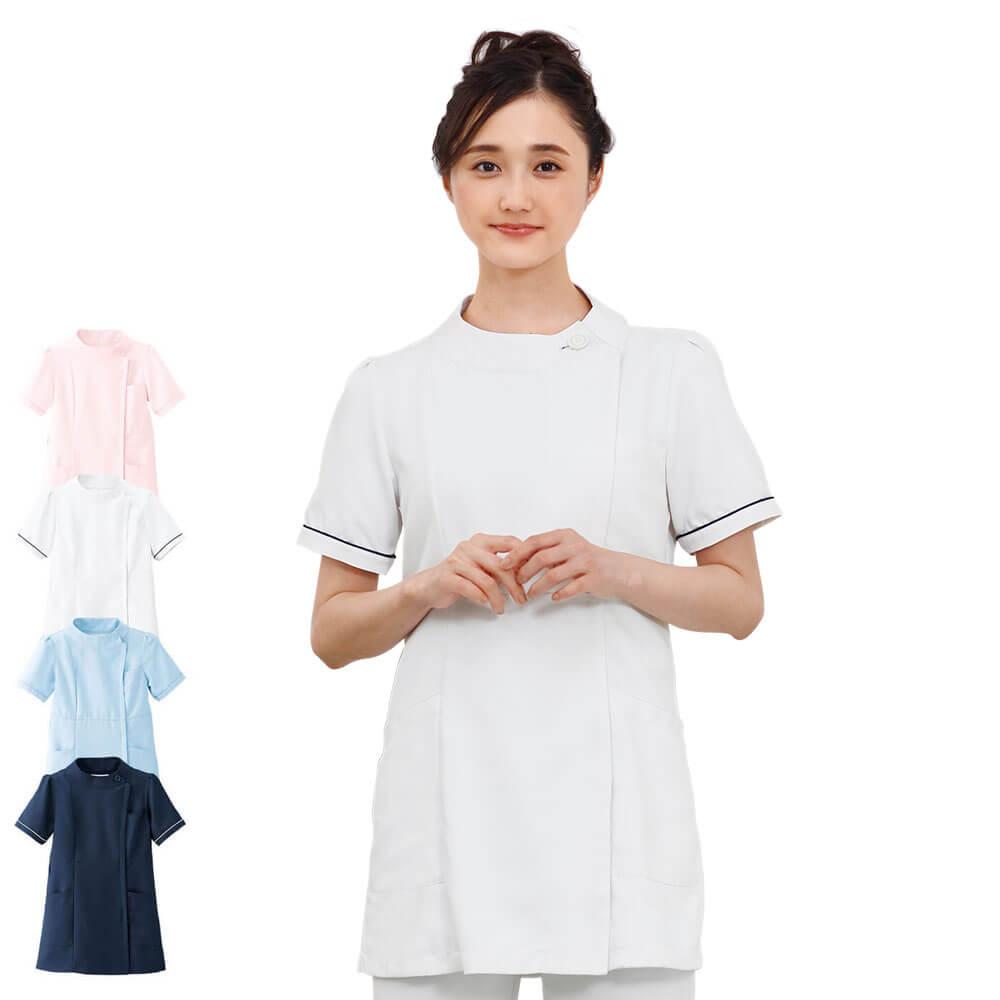 2375 マシュマロツイル スイートモードジャケット【医療 ナース 看護師 白衣 女性】