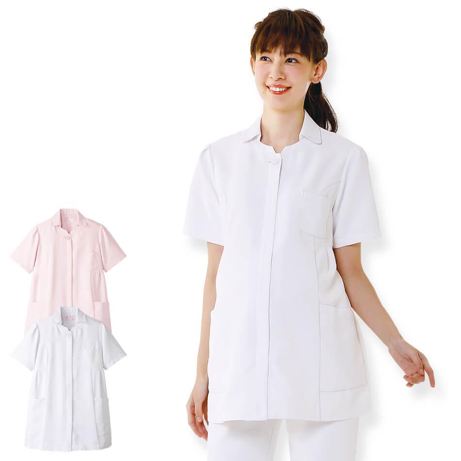 2410 マタニティ マシュマロツイルジャケット【医療 ナース 看護 白衣 女性】