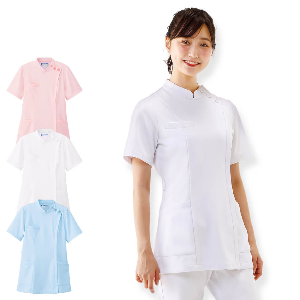 2418 ストレッチケーシージャケット【医療 ナース 看護 白衣 女性 診察衣】