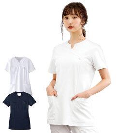BC2203 レディススクラブ BC2203 【医療 ナース 看護師 白衣 女性 おしゃれ】
