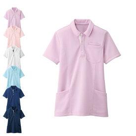 PL00104 透けにくいポロシャツ(レギュラー) 【看護 介護 病院 保育士 ケア ヘルパー ユニフォーム ナースリー】