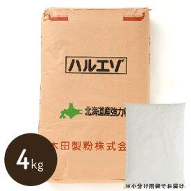 【北海道産強力粉】 春よ恋ブレンド《ハルエゾ》 4kg