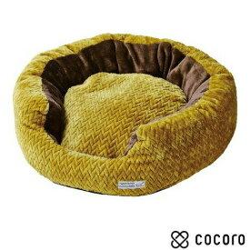 necoco クッション付 ふんわり あったか包み込みベッド アンティークゴールド 1個 猫