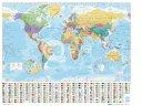 ミニポスター 世界地図WORLD MAP