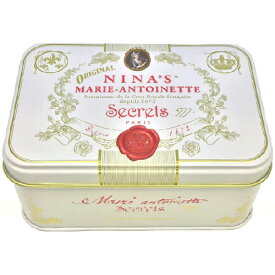Royal box for tea アッサムティーバッグ缶ホワイトカラー缶