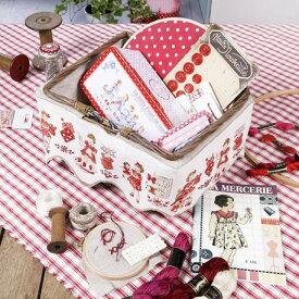 再入荷済み: スカラップバンド Little embroiderers(小さな刺繍)【リネン】