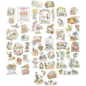 クロスステッチ図案 La grande histoire des jardins(素晴らしいガーデン ストーリー50チャート)