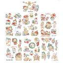《最新作》クロスステッチ図案 Histoire Les chats fetent Noel(クリスマスの素晴らしいねこ物語)50のモチーフ図案集