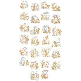 《入荷しました》クロスステッチ図案 Le grand ABC Oursons (くま アルファベット)