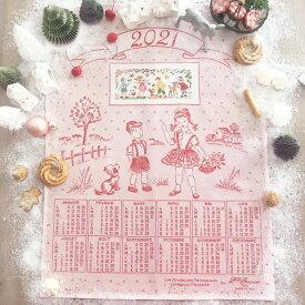 《最新作》レブロドゥーズパリジェンヌ クロスステッチキット トルション 2021カレンダー【アイーダ】