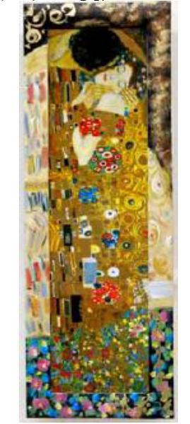 【新商品】額縁 絵画 イタリア製 アートフレーム クリムト 10P27May16