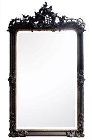 大型壁掛けミラー(角型)大型豪華装飾アンティーク調,シャビーシックな壁掛け鏡,立体装飾