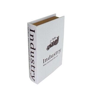 素敵なアイテムアンティーク調ブックボックス 洋書小物入れ