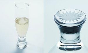 木本硝子 es Slim03 w edokiriko(エドキリコ) グラス 190ml 高級 シャンパングラス 江戸切子 薄張り 東京切子 浅草 日本製 おしゃれなグラス コップ カップ プレゼント ギフト 結婚祝 父の日 母の日