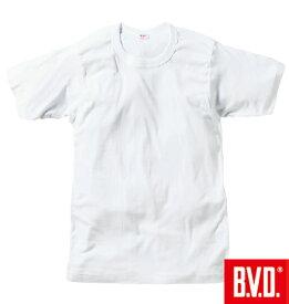 ■大きいサイズ LL 2L 3L 4L 5L 6L XL !B.V.D.丸首Tシャツ(半袖)▽