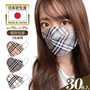 【nova】【4層構造】3D立体型マスク新色3色展開医療用JN95個別方法国産マスク純国産
