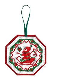 【オリムパスOLYMPUS】刺しゅうキット X-95クリスマス クロスステッチキットサンタクロース【取寄せ品】【C3-7】U-OK