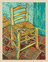【DMC】刺しゅうキット BL1066-71The National Gallery 「ヴァン・ゴッホ ゴッホの椅子」◆◆【C3-7】U-OK
