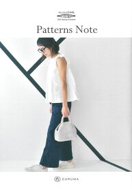 KN15 【ダルマ】小冊子 Patterns Note 2019 Spring&Summer◆◆【C4-12】