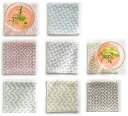 【ルシアンLECIEN】 hidamari 刺し子布 コースターが4枚作れるクロス サイズ約10cm×10cm 【C3-8】 U-OK