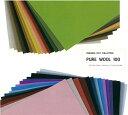 【sunfelt】ピュアウール100 Pure Wool 100 約18cm×20cm プレミアムフェルトコレクション【C3-8】 U20