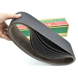 研磨ベルト10枚入 非鉄金属コンクリートアルミ用 60番 適用BG-100・BGH-100用(幅100x周長915mm) 939717 日立工機 HiKOKI