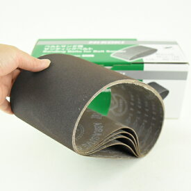 研磨ベルト5枚入 鋼材用 120番 適用旧SB11用(幅110x長さ620mm) 307678 日立工機 HiKOKI