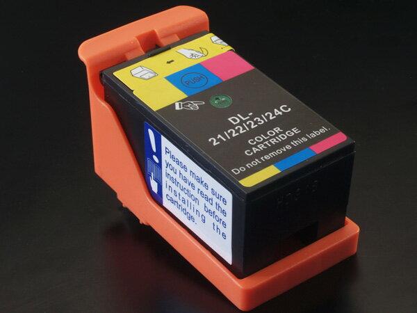 デル(DELL) 21・22・23・24(Y499D/X738N /X752N /X769N) 互換インクカートリッジ カラー DELL V313 V313W V515W V715W【送料無料】【あす楽対応】