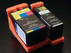 (Y499D/X738N/X752N/X769N・Y498D/X737N/X751N/X768N) デル用 21・22・23・24 互換インク カラー&ブラック カラー&ブラックセット