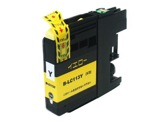 Brother industries, Ltd. (Brother) LC113 compatible ink cartridge yellow LC113Y
