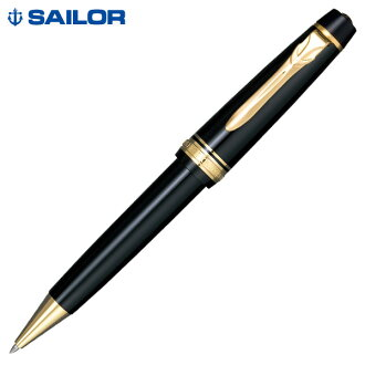水手的自来水笔专业齿轮 Σ 金圆珠笔黑色 16-1017年-620