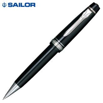 セーラー万年筆 プロフェッショナルギアΣ 銀 シャープペンシル 21-1018-720 ブラック