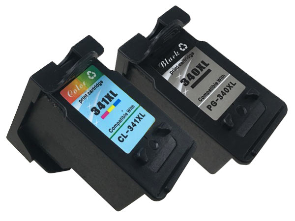 キヤノン BC-340XL&BC-341XLリサイクルインク ブラック&3色カラー 大容量【残量表示対応】【送料無料】 ブラック&カラー【あす楽対応】