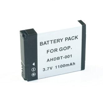 同供GoPro前进专业摄像机使用的AHDBT-001/002可以互相交换的电池
