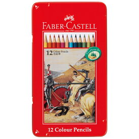 FABER CASTELL ファーバーカステル 色鉛筆 12色セット TFC-CP/12C