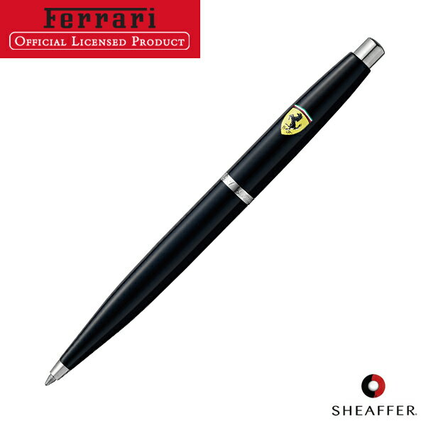 Charming SHEAFFER Schaefer Ferrari VFM Ballpoint Pen Gloss Black NT F9505BP
