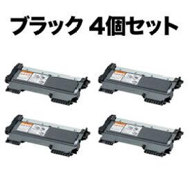 ブラザー用 TN-27J 互換トナー 4本セット ブラック 4個セット DCP-7060D/DCP-7065DN/FAX-2840/FAX-7860DW/HL-2240D/HL-2270DW/MFC-7460DN