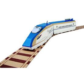 hacomo ハコモ ダンボール工作キット ハッピーレール E7系北陸新幹線 かがやき THM-2764