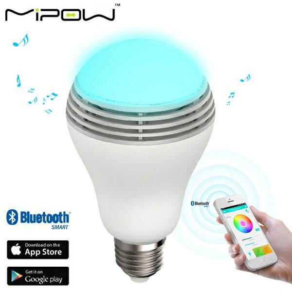 MiPow PLAY BULB スピーカー内臓 Bluetooth LED SMARTライト BTL100C (sb)【送料無料】【あす楽対応】