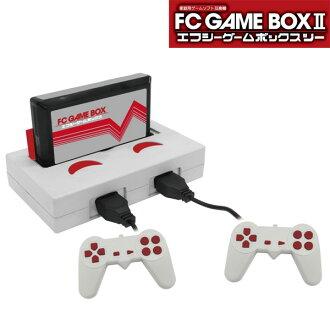 有家庭事情游戏软件互换机FC游戏箱2控制器2个的(sb)