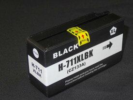 CZ133A HP用 HP711 互換インクカートリッジ ブラック