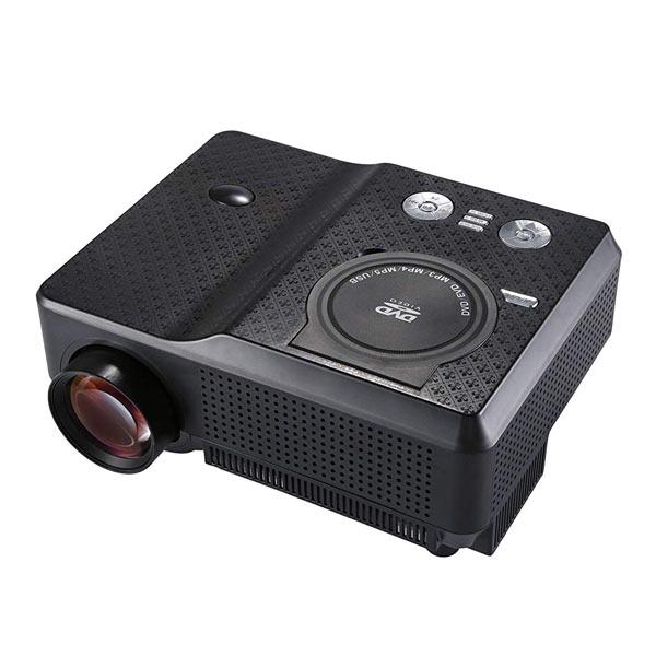 HDMI対応 50〜200インチ対応 DVD一体型ハイビジョンプロジェクター FF-5561(sb) 【メール便不可】【送料無料】【あす楽対応】