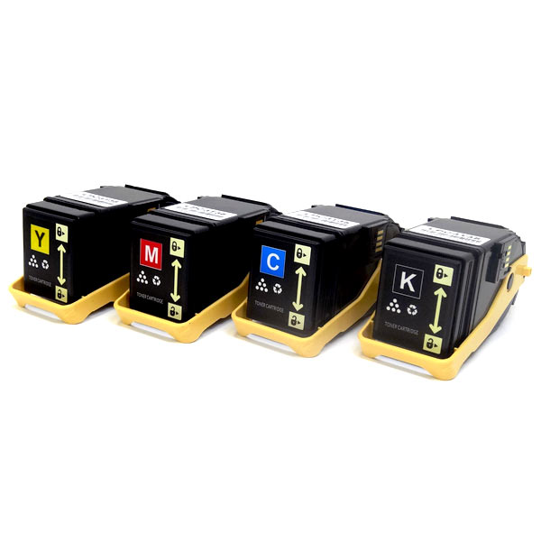 エプソン(EPSON) LPC3T35 互換トナー Mサイズ 4色セット LP-S6160【送料無料】【あす楽対応】