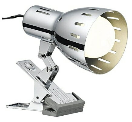 YAZAWA LED専用 クリップライト E26 LED電球対応 ※電球別売り Y07CLX60X01CH (sb)【送料無料】 クローム【あす楽対応】