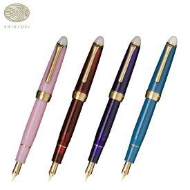 セーラー万年筆 SHIKIORI 四季織 月夜の水面 万年筆 細字 全4種 11-0558 全4種から選択