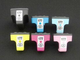 C8721HJ/C8771HJ/C8772HJ/C8773H/C8774HJ/C8775HJ HP用 HP177 リサイクルインクカートリッジ 6色セット