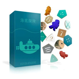 オインクゲームズ テーブルカードゲーム 海底探険 DEEP SEA ADVENTURE (sb)